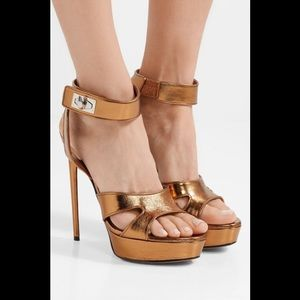 Givenchy Shark-Lock Platform Sandals